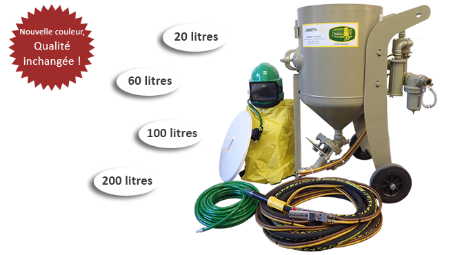 equipement de sablage clemco. Black Bedroom Furniture Sets. Home Design Ideas